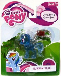 My Little Pony Friendship is Magic Keychain Crystal Pony Rainbow Dash