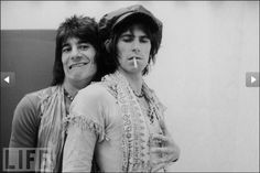 Ronnie Wood & Keith Richards