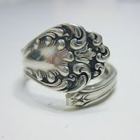 Through the Front Door: spoon ring tutorial