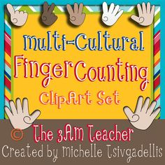 Multi-Cultural Counting Hands 0-5!!!