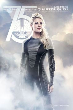 Catch Your Breath: The New 'Hunger Games: Catching Fire' Posters Are Here!: Stephanie Leigh Schlund as Cashmere