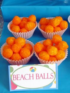 bubble guppies party, pool parties, ball party, birthday parties, party snacks, beach party, summer fun, 1st birthdays, cheese ball