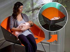 The Koo. Berço e cadeira de amamentação.