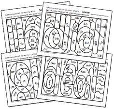 Hidden Sight Word Worksheets!  Click here for your free sample worksheets!  #kinderchat