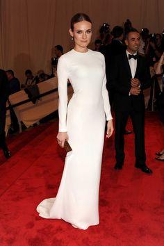 Diane Kruger in Calvin Klein Collection. God, she rocks everything.