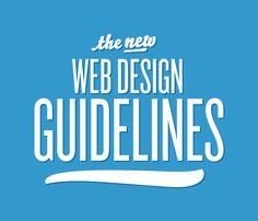 The New Web Design Guidelines. Source: Smashing Magazine.
