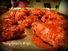 Honey-Chipotle Wings from @Erika Villar