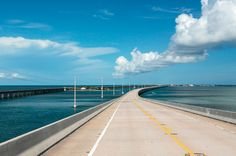 Even the view from U.S. Highway 1 is beautiful in the #Florida Keys.