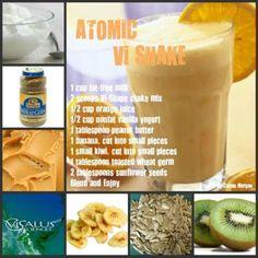 atom vishak, 90 day challenge, visalus recip, visalus shake, vi shake recipes, visalus bodi, peanut butter, vi recip, vi shakes
