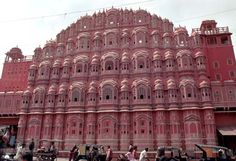 The Palace of the Winds, Jaipur, India