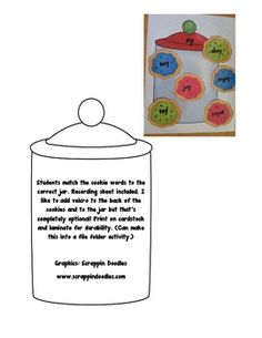 In this activity, students match the cookie words to the correct oi or oy cookie jar.  6 words for each sound included. Recording sheet included an...
