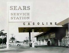 Sears Service Station 1960...