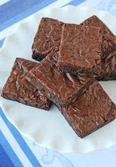 """Perfect Homemade Brownies (Glorious Treats). """"These brownies are rich, full of chocolate flavor, fudgy and moist (without being overly dense or oily)...I've been searching for a perfect homemade brownie recipe for a while, and I believe I've found it!"""""""
