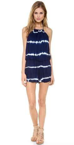 tie dye romper, perfect for a beach vacay