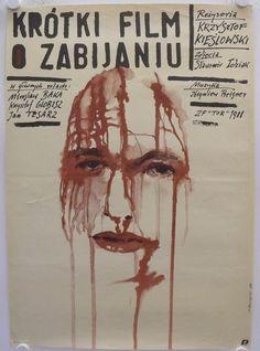 Krzysztof Kieslowski (1988) A Short Film About Killing {Krotki film o zabijaniu}   M66   #movie #film #movieposter #poland #festivaldecannes #kieslowski