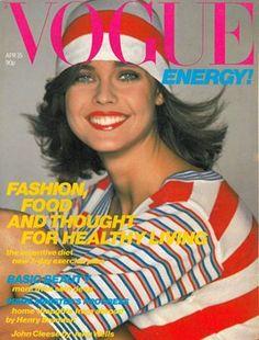 VOGUE 1980. Model: Carol Alt.