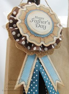 #justrite Close up of Father's Day Tag designed by Mona Pendleton using You are the Best