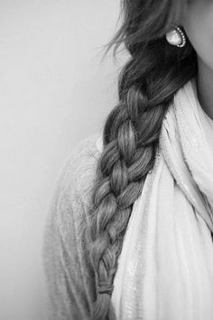 Put a new spin on the side braid by adding a row