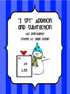 Addition and Subtraction without regrouping game