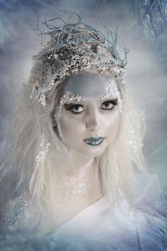 Where Professional Models Meet Model Photographers   #frosty queen #snow