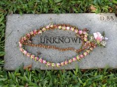 Offering for an Unknown Soldier at Punch Bowl National Cemetery