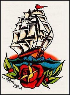 Ed Hardy-Pirate Ship Temporaray Tattoo by Tattoo Fun. $4.95. This ...