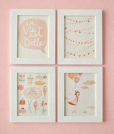 If some day I need to decorate another girl nursery!
