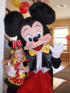another Minnie party with great ideas