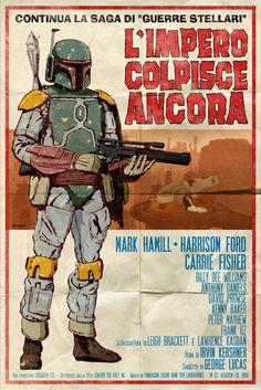 Spaghetti Western Star Wars Poster