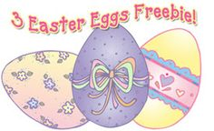 For DJ's Easter Egg Hunt, we thought it only appropriate that the FREEBIE be some really cool eggs! It's a 3 part freebie!!! Perfect for your Easter greetings, spring newsletters and hiding a little smile here & there.  :)