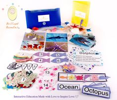 Preschool Ocean Kit by Brilliant Bundles - All Brilliant Bundles Early Learning kits will be available for pre sale mid June!