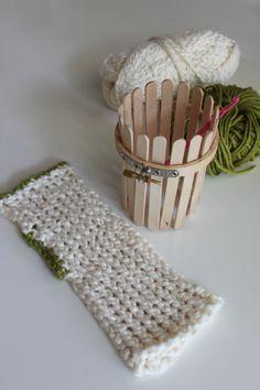 Spool Knit Wrist Warmer