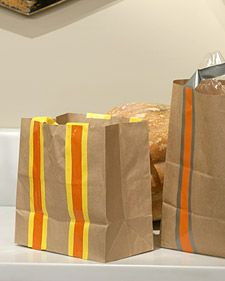 If your trick-or-treaters need a sturdy bag to haul their loot, you can create one using an ordinary paper bag. Not only does it hold a king's ransom of goodies, but it's also constructed with safety in mind.