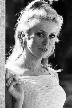 Catherine Deneuve in Cannes, France on May 24, 1965.