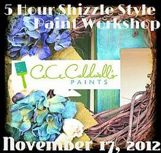 The Next Shizzle Style Workshop is Saturday, November 17th!