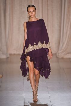 Marchesa Goes to India for Spring 2013