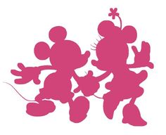 A bunch of Disney silhouettes!!!