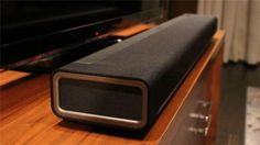 Sonos PLAYBAR just lying there looking great. Best of 2013 sound bars for tv