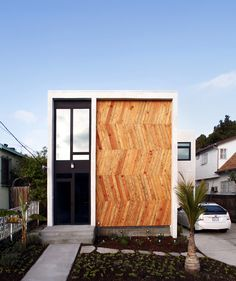 wood front #architecture #design #modern