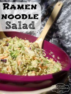 Ramen Noodle Salad - OrchardGirls.blogspot.com