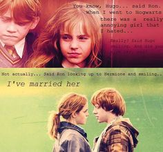 Ron and Hermione. ♥