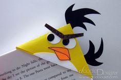 angry bird bookmark