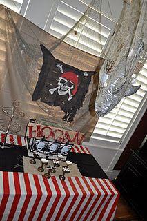 Pirate back drop