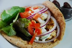 Checkout this Greek Chicken Gyros Recipe at LaaLoosh.com. Full of fantastic Greek flavor, it's hard to believe each Gryo is just 7 Points +.