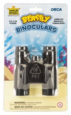 Beastly Binoculars Orca at theBIGzoo.com, a family-owned store. Check our sales & FREE Shipping.