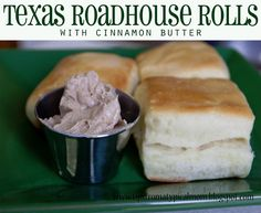 Texas Roadhouse Rolls Copycat Recipe with Cinnamon Sugar Butter