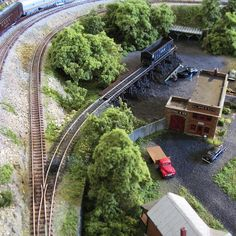 N Scale Coal supplier scene