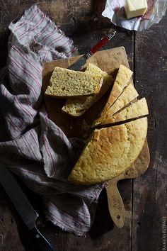 Irish Cheddar Soda Bread - A no knead, no yeast bread | Bakers Royale @Sara Baker Royale | Naomi