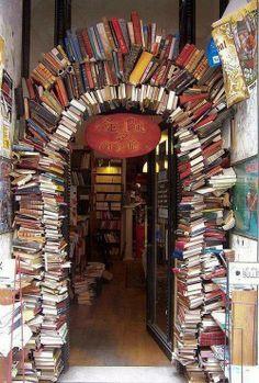 books-doorway