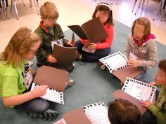 Blog post about Literature Circles in the Primary classroom---and also a freebie book report